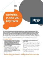 Arthritis Key Facts