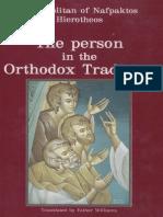 Hierotheos Vlachos - Person in the Orthodox Tradition