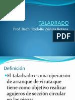 Taladrado y Brocas Present Ppt