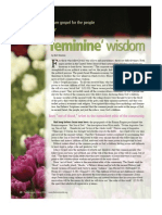Bert Newton on Jesus' Feminine Vision
