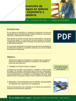 Prevencion de Riesgos en Talleres de Carpinteria y Muebleria[1]