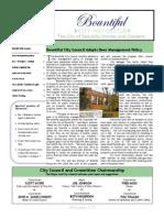 Bountiful City Newsletter November 2010