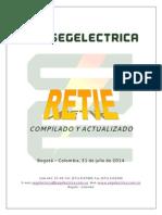 Retie Actualizado 31.07.2014