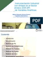 Presentación Medición de Variables Analiticas Miguel E. Gomez P. 29-04-2014 Rev 5.0