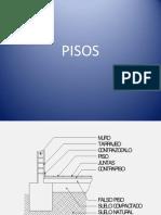 Clase N° 01 - PISOS