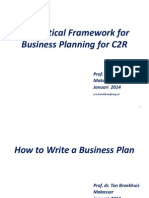 Theoretical Framework for Business Planning for C2R