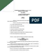 Reglamento de La Ley Catastral y Registral Del Estado de Sonora