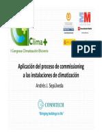 Commtech Aplicacion Del Proceso de Commissioning Instalaciones de Climatizacion Congreso Climaplus 2011