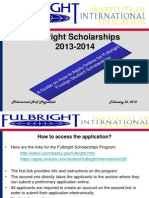 fulbright application-2013-2014