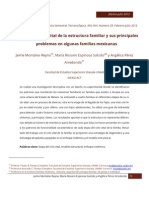 Ciclo Vital y Estructura Familiar de Fam Mexicanaas