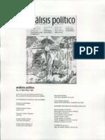 CARDOSO, Fernando, (1997) Análisis Político No 31 May-Ago 1997