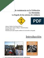 Paisajes de Resistencia en La Población Lo Hermida