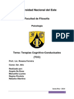 Terapias Cognitiva Conductuales (1)