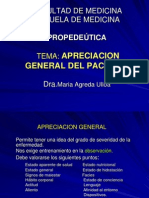 7.- APRECIACION GENERAL DEL PACIENTE-AGREDA 1.ppt