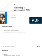 SUM305- Planning, Implementing and Troubleshooting Provisioning Services 6.x