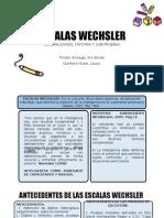 Escalas Wechsler - Historia
