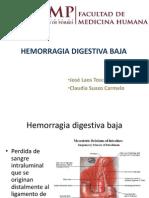 Hemorragia Digestiva Baja Collique
