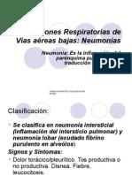 Infecciones Respiratorias Bajas