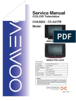 Service Manual Dtq-21a35r Dtq-21a24n Cx-A21fb