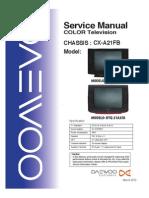 Service Manual Dtq-21a35r Dtq-21a24n Cx-A21fb