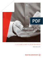 Bain - Customer Loyalty in Retail Banking (Global Edition 2012)