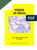 Yesus Di India - Hazrat Mirza Ghulam Ahmad Dari Qadian