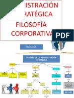 Filosofia Corporativa - Uno Presencial- Adm Estra