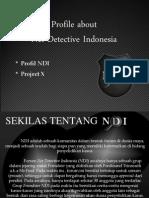 Bedah Buku Project X