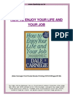 How to Enjoy Your Life and Your Job (Summary) - Dale Carnegie