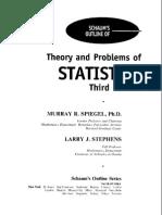 Murray Spiegel Statistics