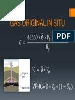 Gas Original in Situ