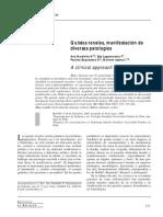 Quistes Renales. Revista Medica de Chile.