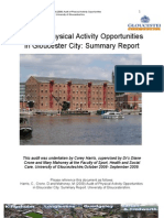 Audit of Physical Activity Opportunities in Gloucester City CH Edit