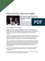 AGULLA, Juan Carlos - Entrevista