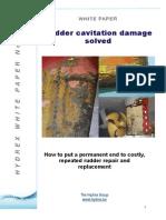 WP 6 Rudder Cavitation Web