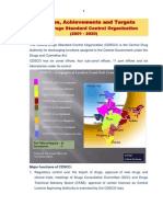 CDSCO Initiatives & Targets for Website 13-7-2012!17!07-2012