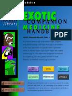Exotic Companion Medicine Handbook