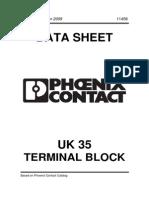 Phoenix UK 35 Terminal Block