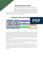 Arquitectura Von Neumann y Arquitectura Harvard Ultima