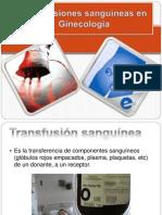 Transf Sanguineas