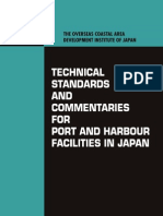 Technical Standard and Commentaries for Port and Harbour Facilities in Japan