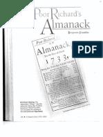 the poor richards almanack