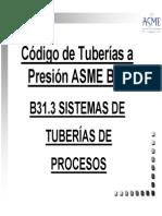 Curso b31.3 Asme