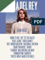 Lana Del Rey-Born to Die (Digital Booklet)