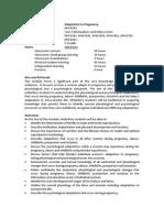 MW2202 Adaptation in Pregnancy