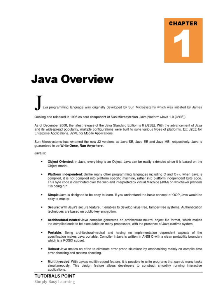 Java tutorial overview java programming language runtime system baditri Gallery