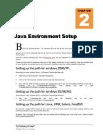 Java Environment Setup