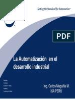 La Automatización en El Desarrollo Industrial