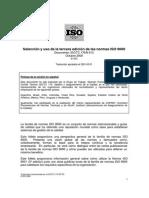 Seleccion Uso ISO 9000 14pp