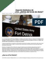 Centro de Investigación ...El Brote de Ébola_ – RT